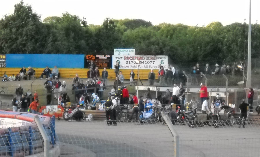 arena essex speedway history