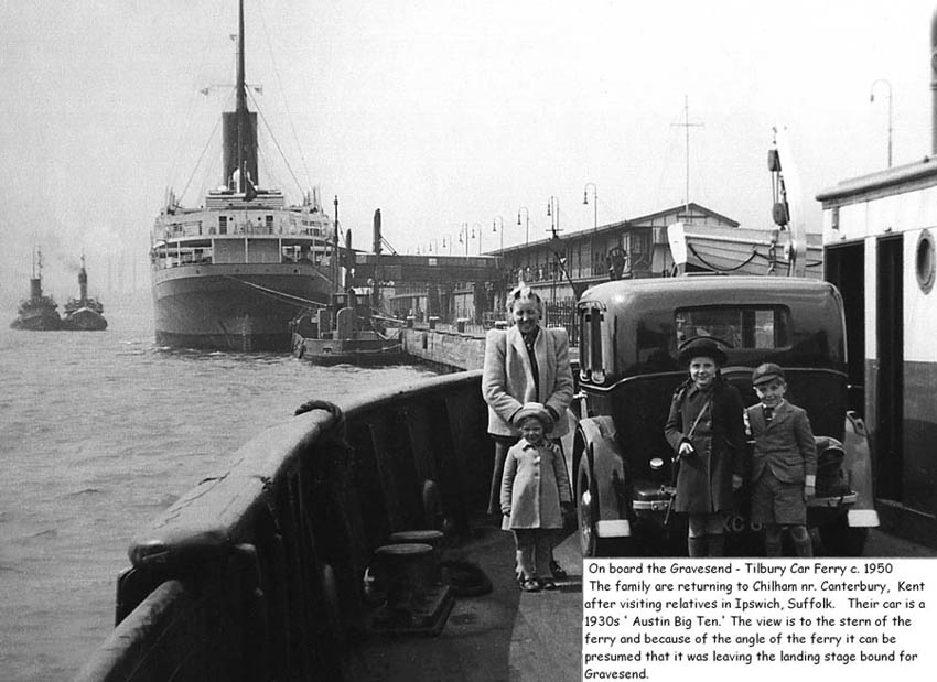 Photo:This picture from 1950 shows a family using the ferry just as Jenny Knight's did