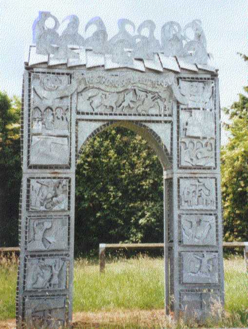 The Memorial to the Peasants' Revolt at Fobbing