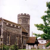 The round tower of South Ockendon church